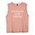 TOO BLESSED TO BE STRESSED [WOMEN'S MUSCLE TANK]