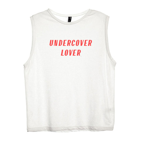 UNDERCOVER LOVER [WOMEN'S MUSCLE TANK]