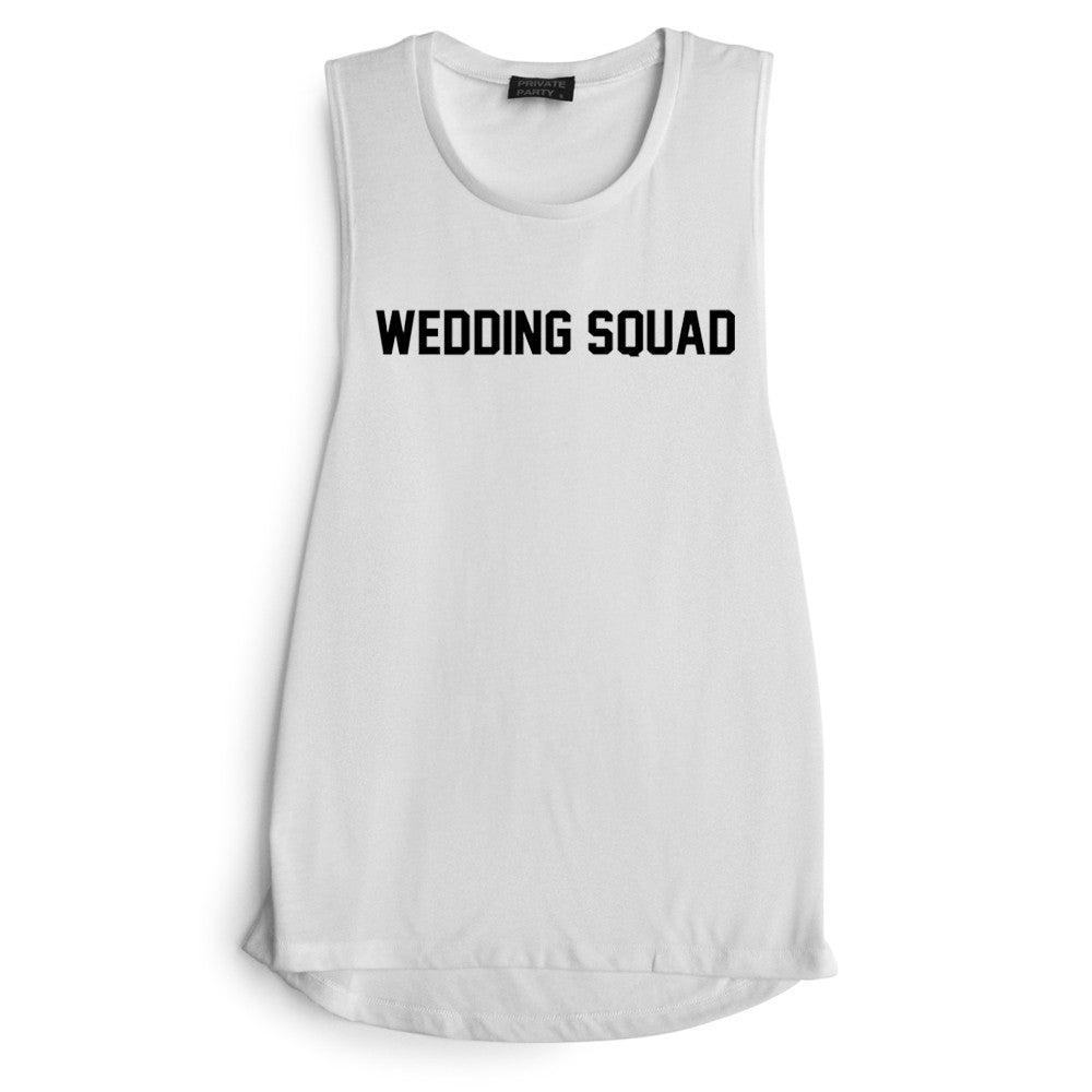 WEDDING SQUAD [MUSCLE TANK]