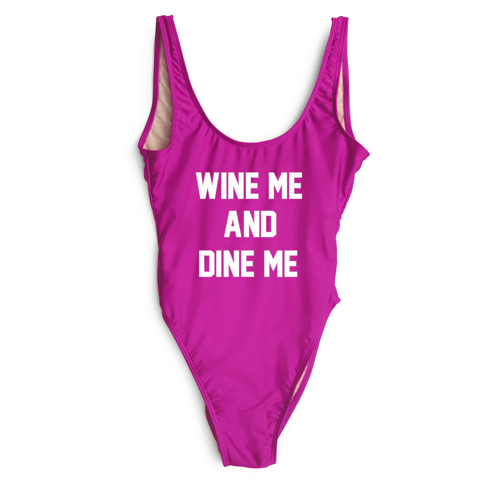 WINE ME AND DINE ME [SWIMSUIT]