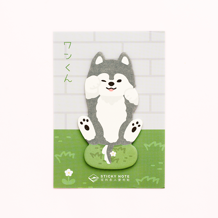 Post-it Mascotas/ Husky Siberiano