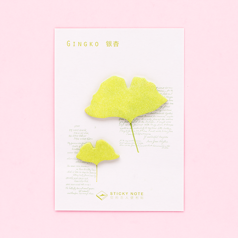 Post-it Plantitas/ Ginkgo Biloba