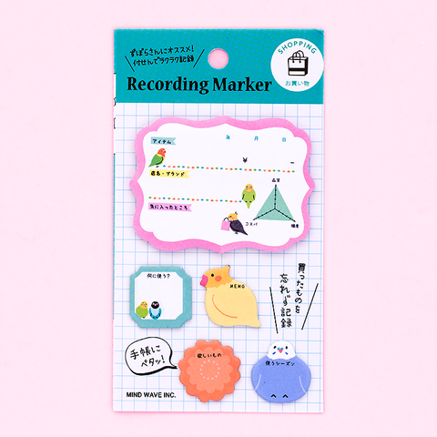 Post-it Recording Marker/ Shopping