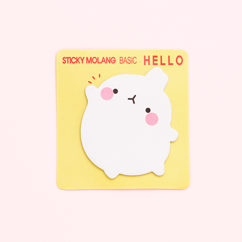 Post-it Molang/Hello