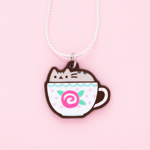 Collar Pusheen en Taza