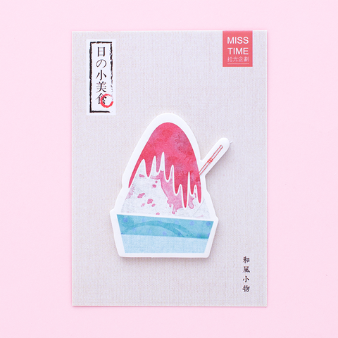 Post-it Dulces Japoneses/ Kakigori