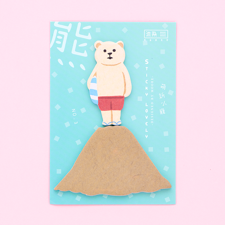 Post-it Sticky Lovely/ Oso Playero