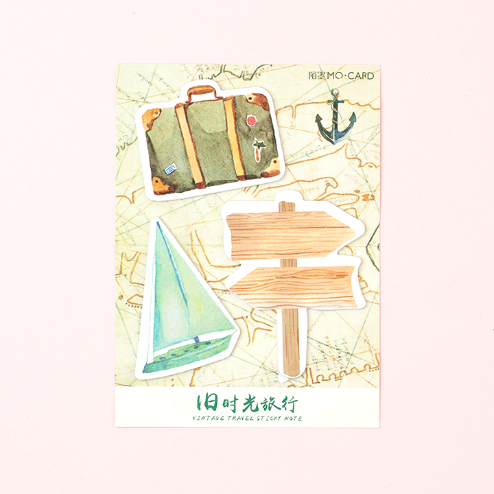 Post-it Vintage Travel/  Maleta
