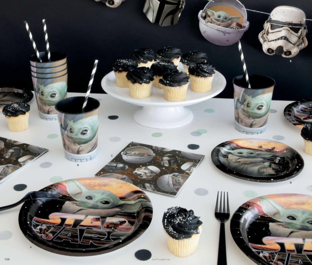 Baby Yoda The Mandalorian Party Supplies