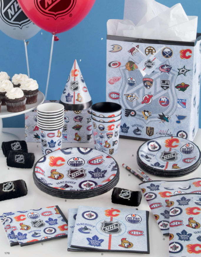 NHL Party Supplies