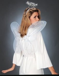 Adult Angel Costume Kit  includes halo and wings