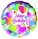 Birthday 18 inch foil balloon
