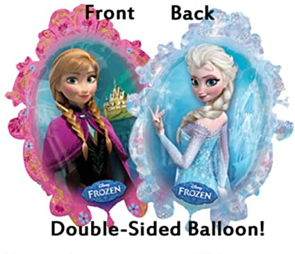 Anna and Elsa supershape foil balloon 31 inches
