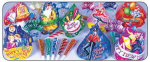 Jubilee New Year's Eve Party kit for 10