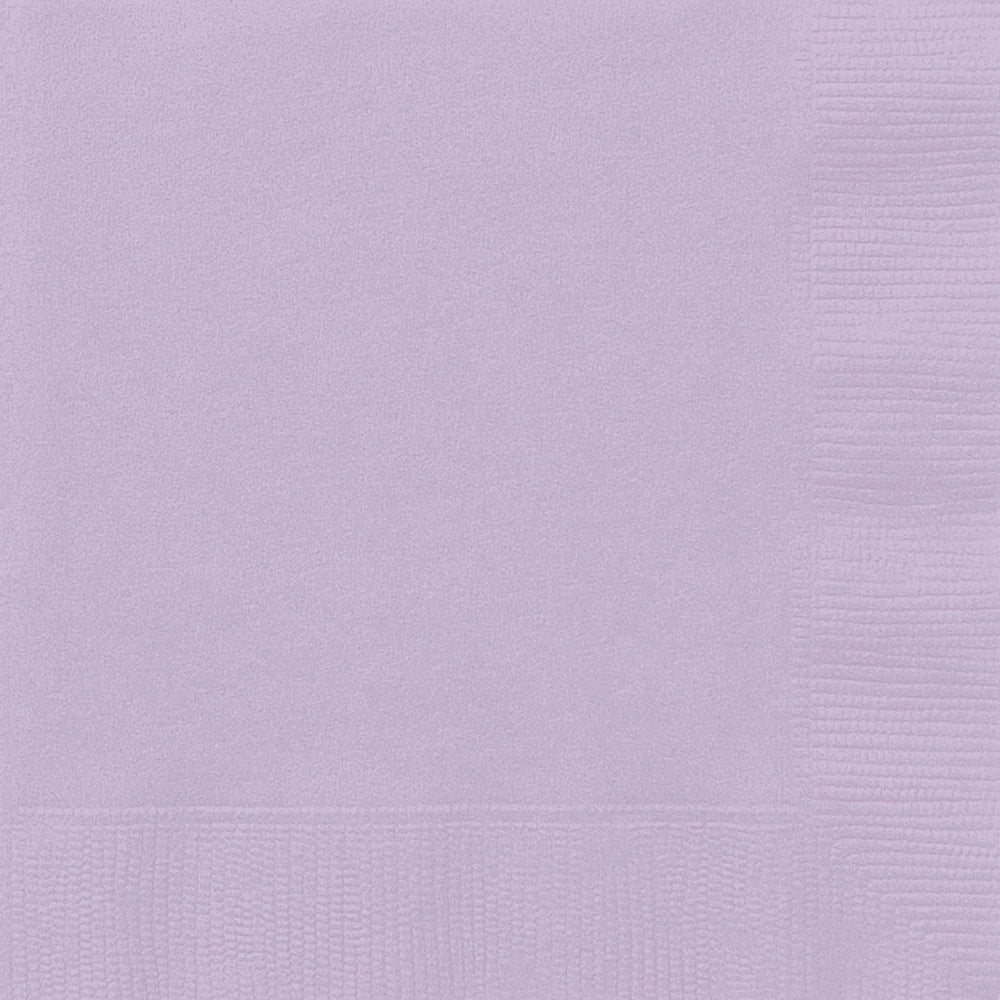 Lavender Luncheon Napkins
