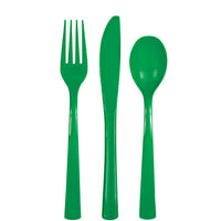 Plastic Cutlery 18/Pkg 20 colours