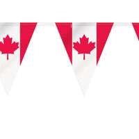 Maple Leaf Flag Banner