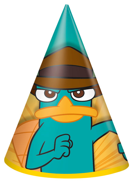Phineas and ferb Cone hats