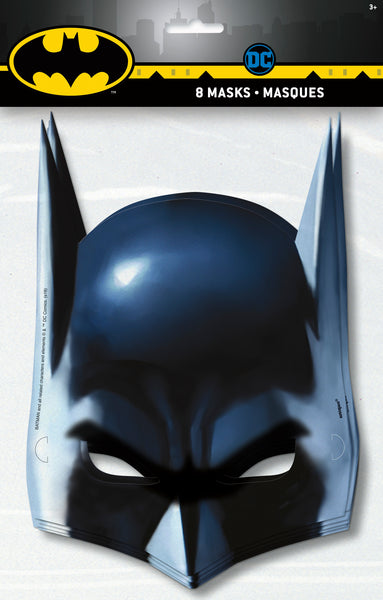 batman masks in package 8 count