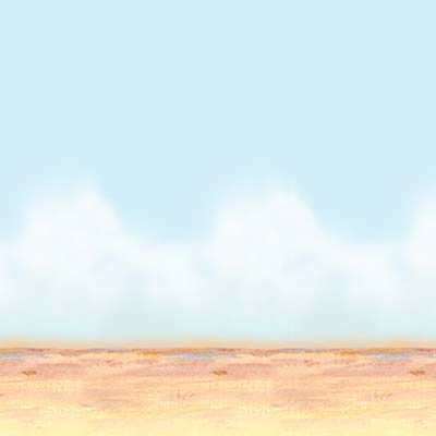 desert sky and sand backdrop 4 feet by 30 feet 1 per package