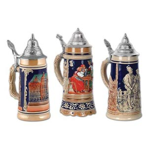 beer stein cutouts measure 18 inches 3 per package