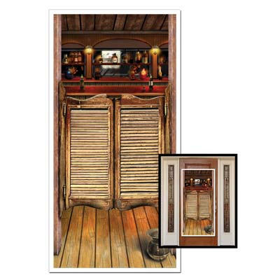 saloon door cover 30 inches by 5 feet