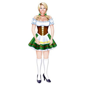 jointed oktoberfest fraulein 3 feet 2 inches