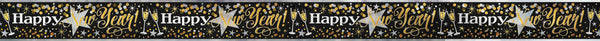 Metallic Happy New Year Banner 12'