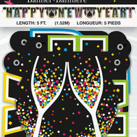 Jointed Happy New Year Banner package
