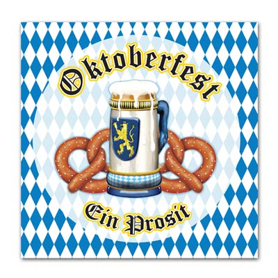 oktoberfest luncheon napkins 16 per package