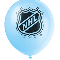 NHL blue 12 inch latex balloon, 2 in each package