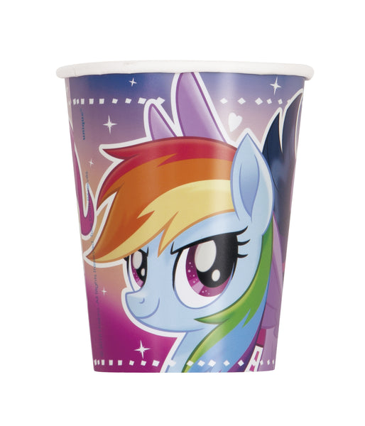 my little pony 9 ounce cups, 8 per package, Rainbow Dash