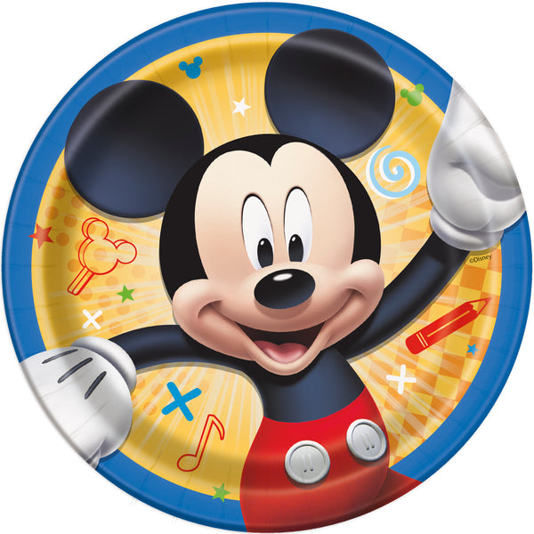 Mickey Mouse 7 inch paper dessert plates