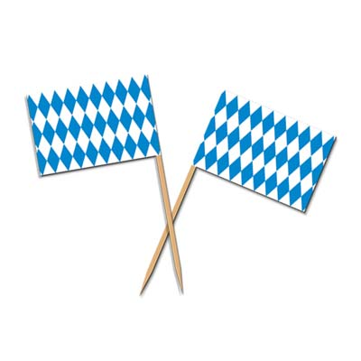 oktoberfest picks measure 2.5 inches 50 per package