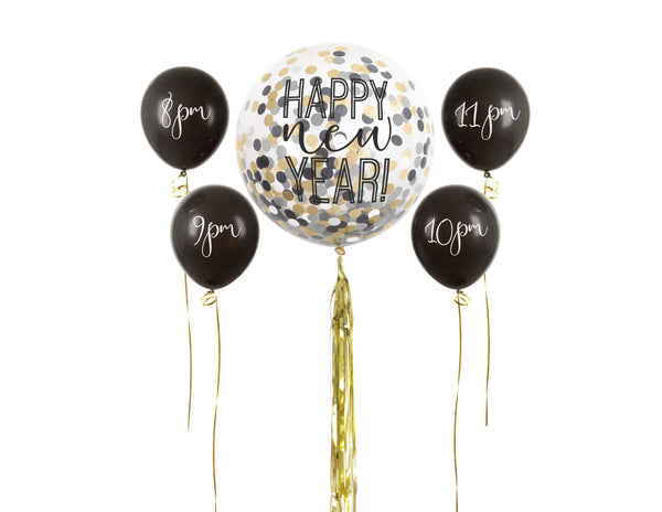 New Year Countdown Balloon Kit