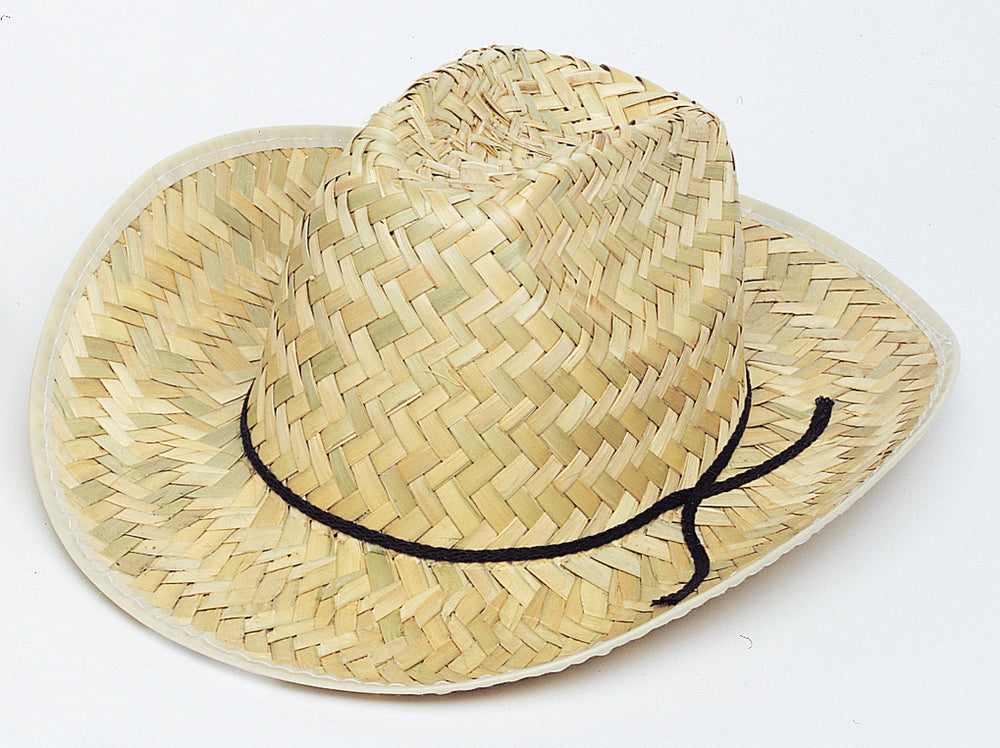 child size straw cowboy hat 1 per package