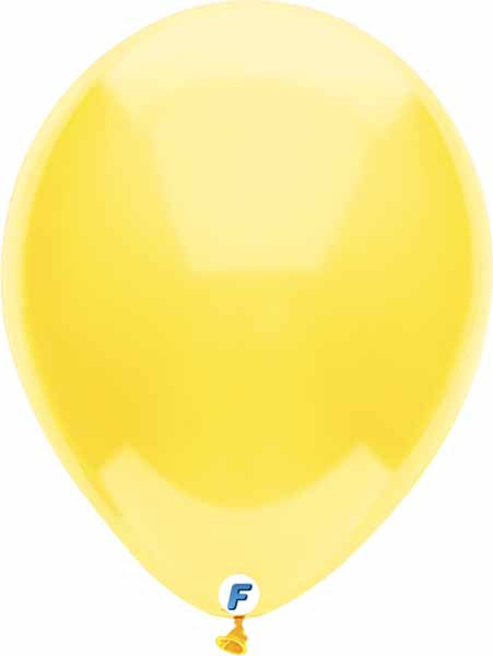 yellow balloon 12 inch funsational