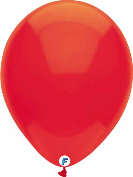 Red balloon 12 inch funsational