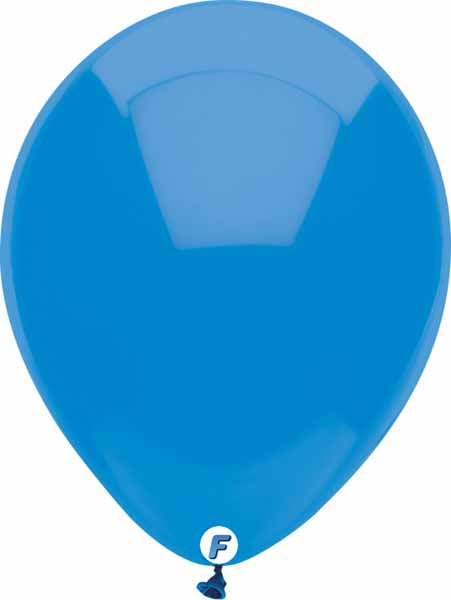 Ocean Blue balloon Funsational 50 CT