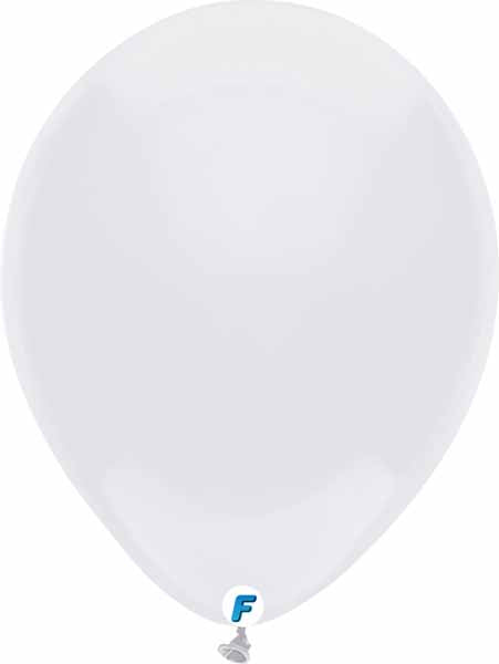 White balloon funsational 50 ct