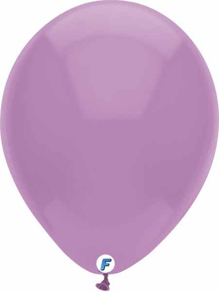 Purple balloon 12 inch funsational