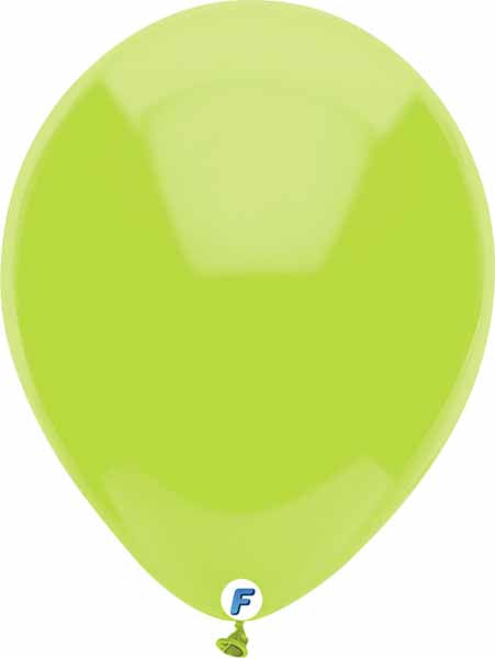 Lime Green balloon 12 inch funsational