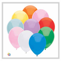 Assorted colour balloons funsational brand