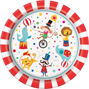 Circus Carnival dinner plates