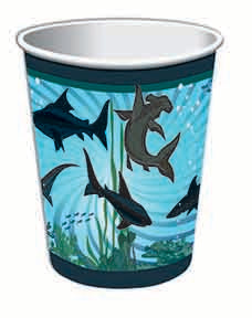 9 oz shark cups