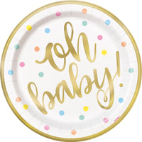 Oh Baby Dinner plates