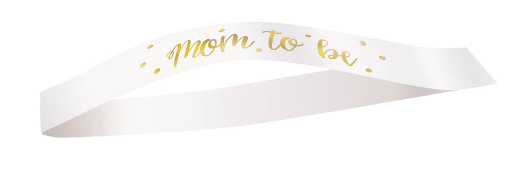 Mom to Be sash