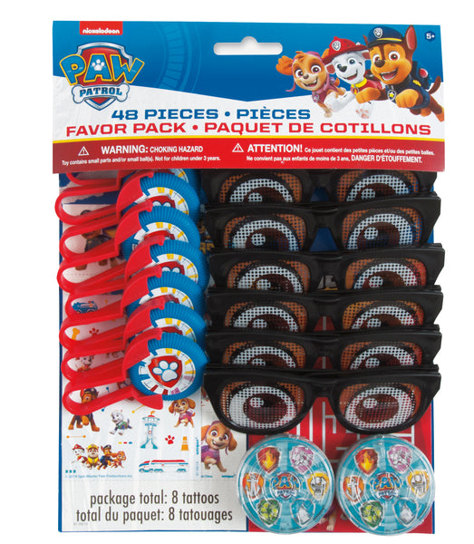 paw patrol party favors 48CT
