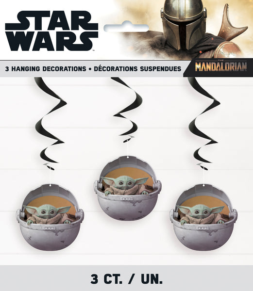 the mandalorian Baby Yoda hanging decorations