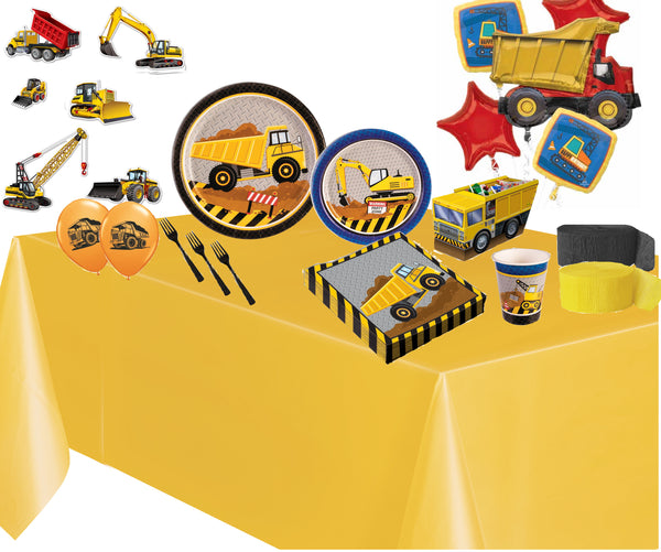 Construction Party in a box deluxe